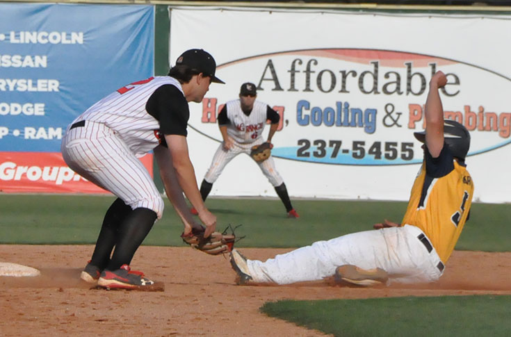 Baseball: Swift's bat helps Panthers survive elimination in USA South Tournament