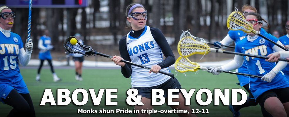 Monks Shun Pride in Triple Overtime, 12-11