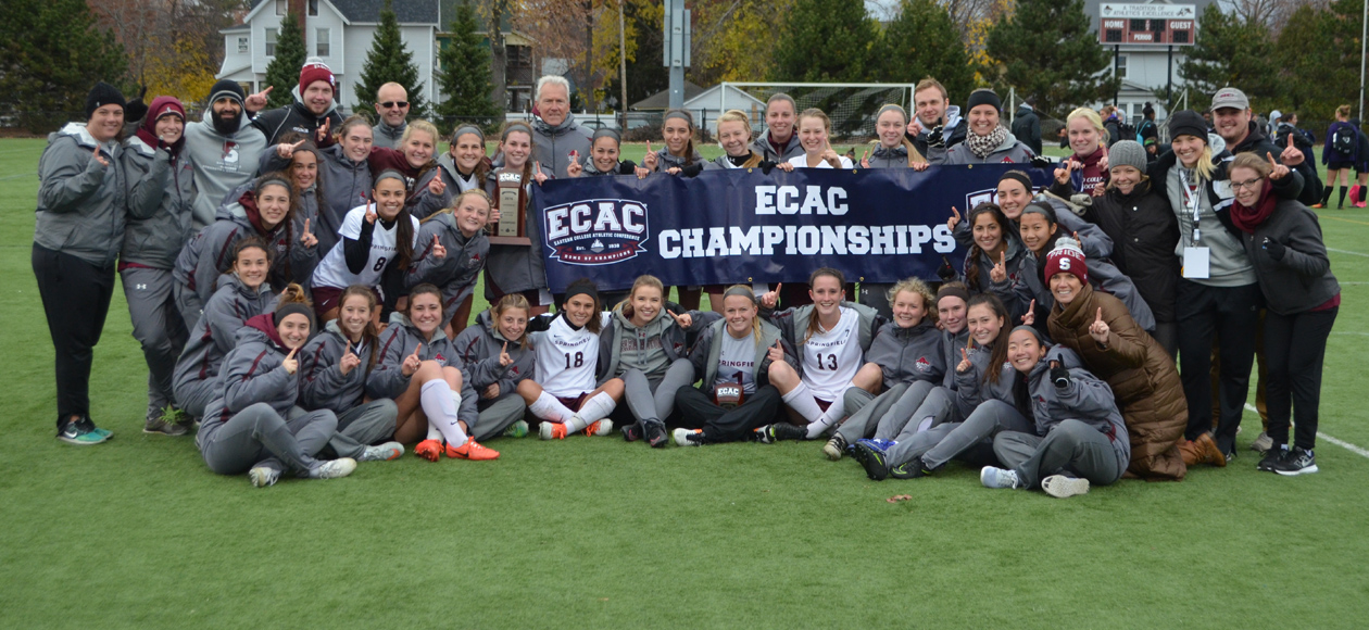 Women's Soccer Claims ECAC Championship Over NYU in Penalty-Kick Shootout