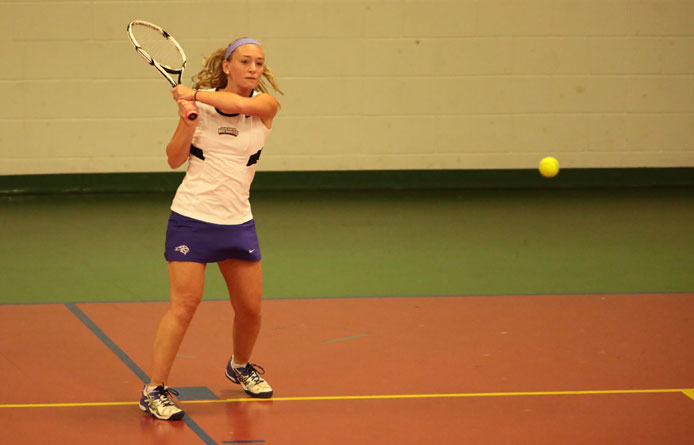 Women's tennis falls to regional power Southern New Hampshire, 6-3