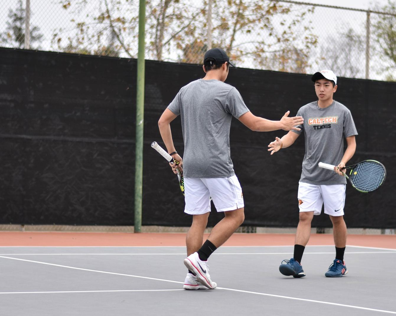 No. 36 Men's Tennis Dominates at Whittier