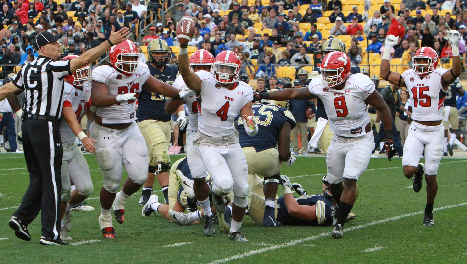 YSU forced overtime at Pitt before falling 28-21