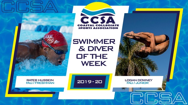 CCSA Announces Men's Swimmer and Diver of the Week - Nov. 5