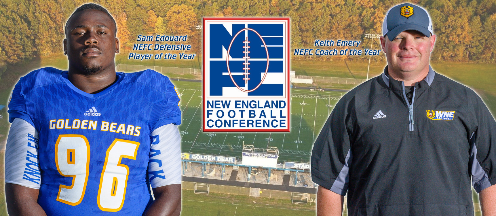 Edouard & Emery Earn Major Awards as Western New England Dominates All-NEFC Honors