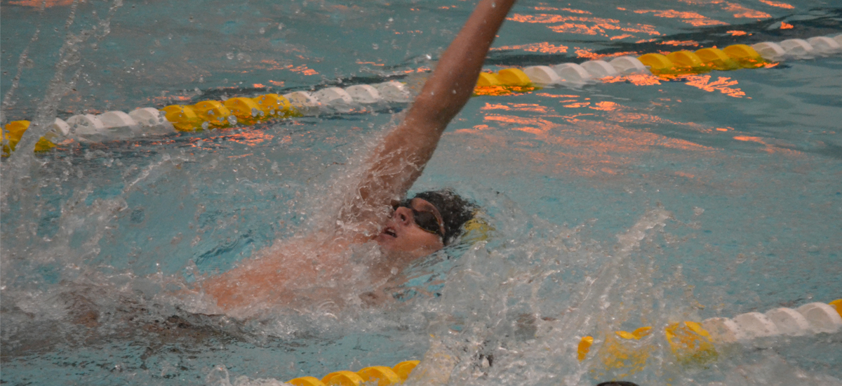 Swimming and Diving Wraps Up Competition at ECAC Championships