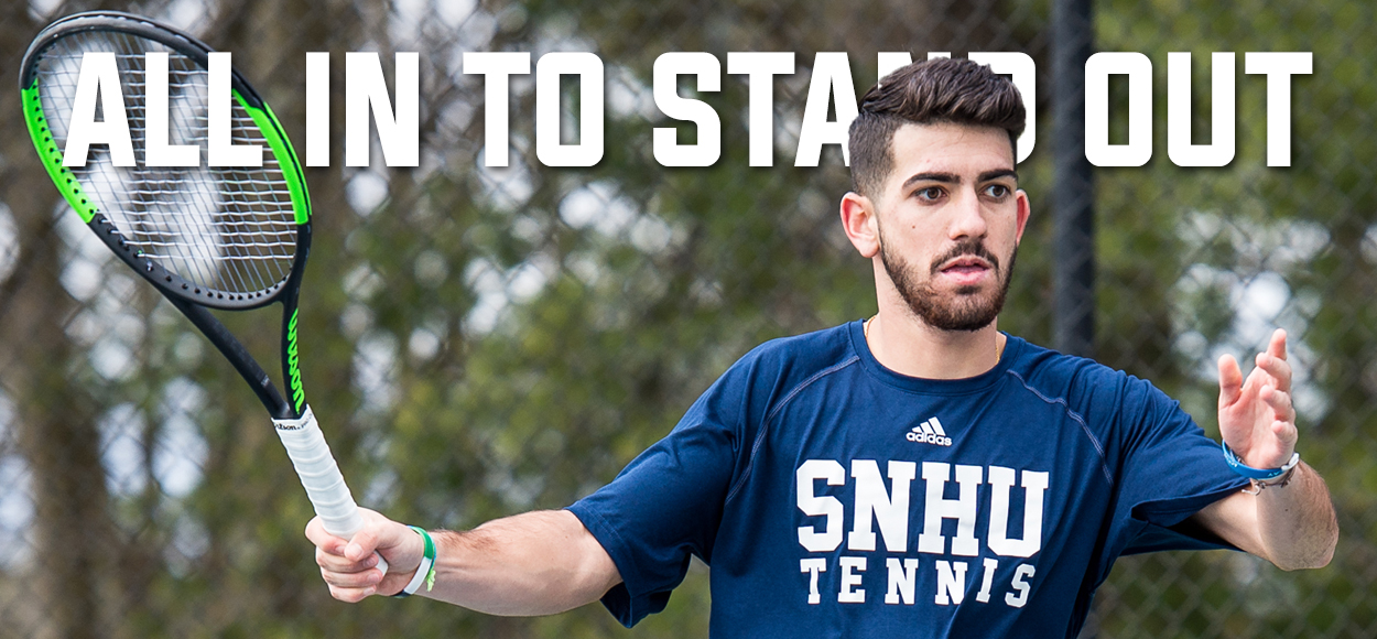 SNHU's Fernandes Named Player of the Year as the NE10 Announces It's Tennis All-Conference Awards