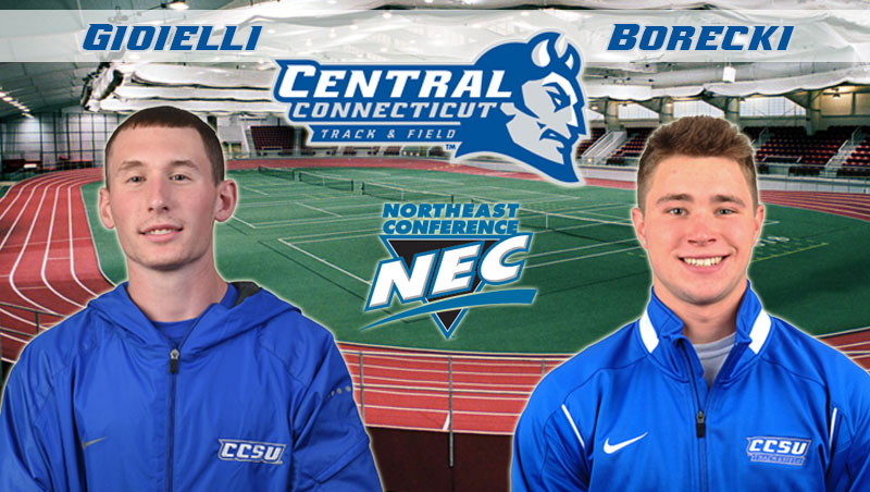 Gioielli, Borecki Honored With NEC Weekly Awards