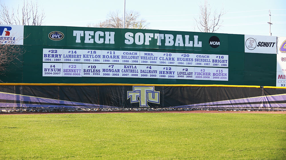 Tech softball to host August camp