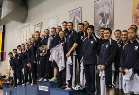 UMW Men's Swim Team Captures 12th Straight CAC Championship