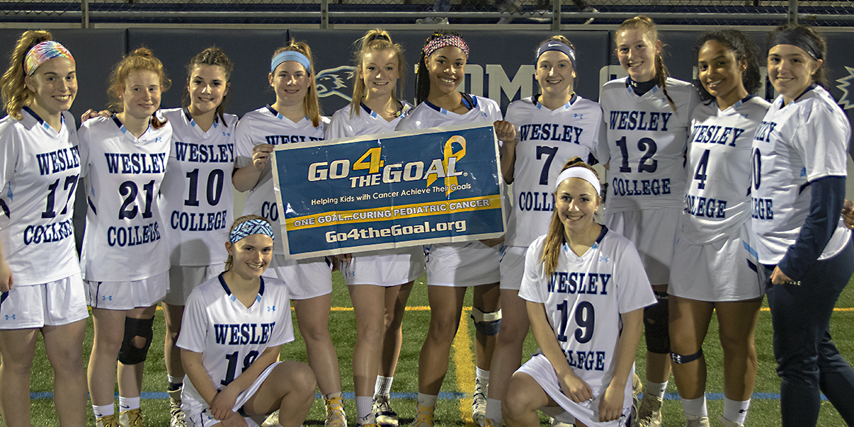 Women's Lacrosse secures fourth-straight win in 19-1 victory over Rosemont
