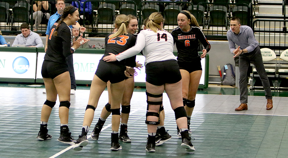 Women's volleyball season ends in first round of NCAA tournament