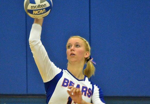 Volleyball downs Vassar 3-2