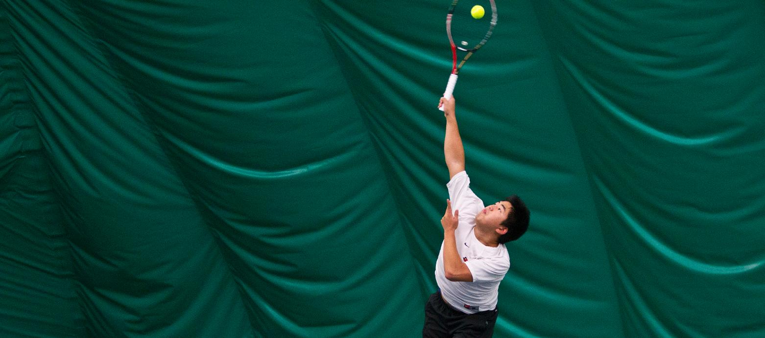 Men's Tennis Qualifies for NWC Tournament With 7-2 Win