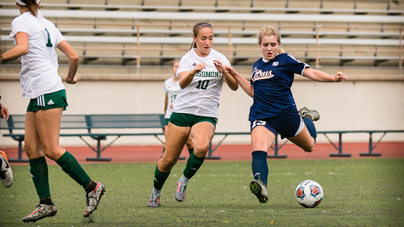 Citrus Women's Soccer Battles To the End in Loss to Grossmont