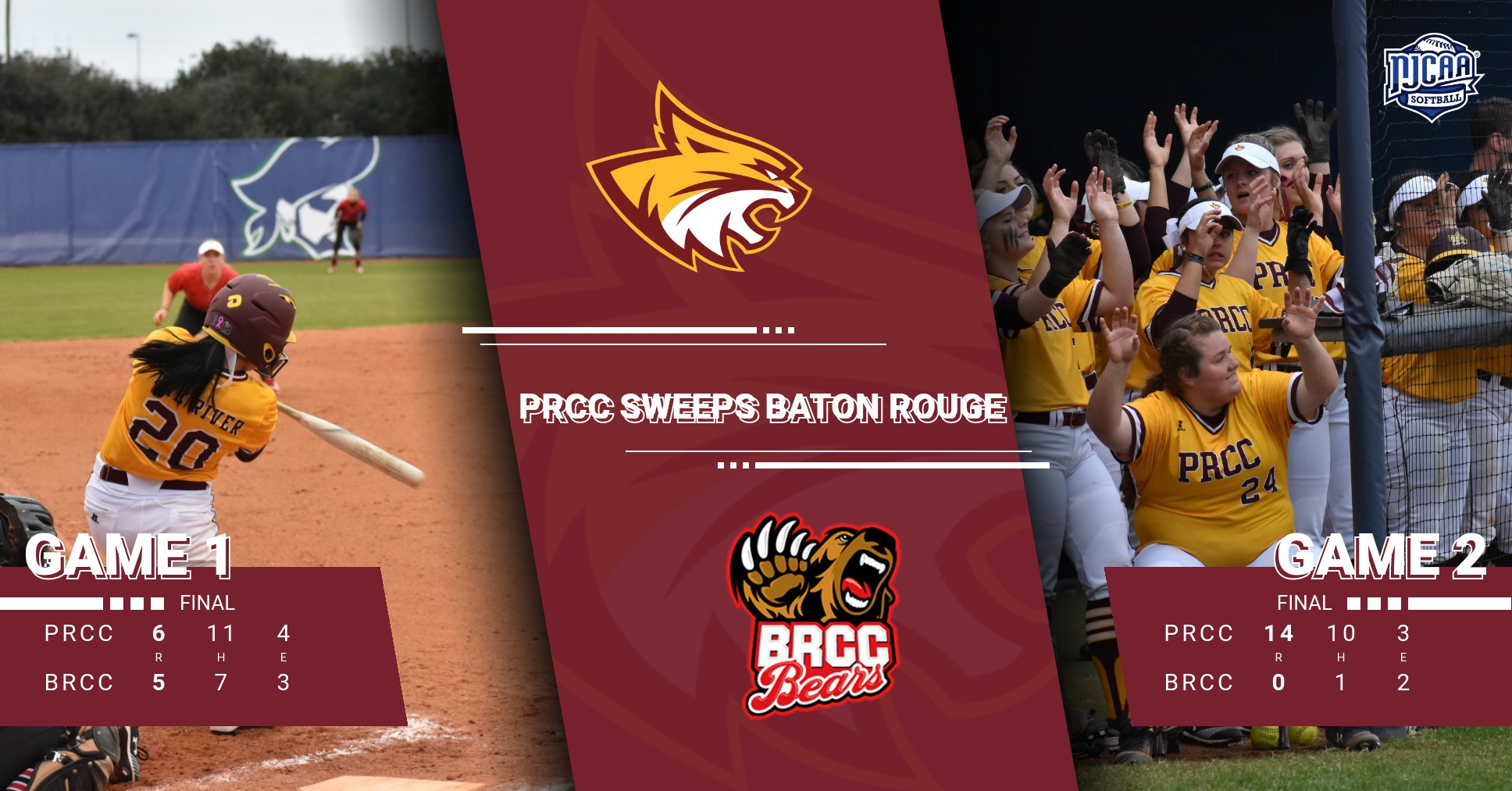 Lady Wildcats bounce back and sweep Baton Rouge