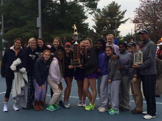 2015 Girl's Tennis Champions   Holy Cross