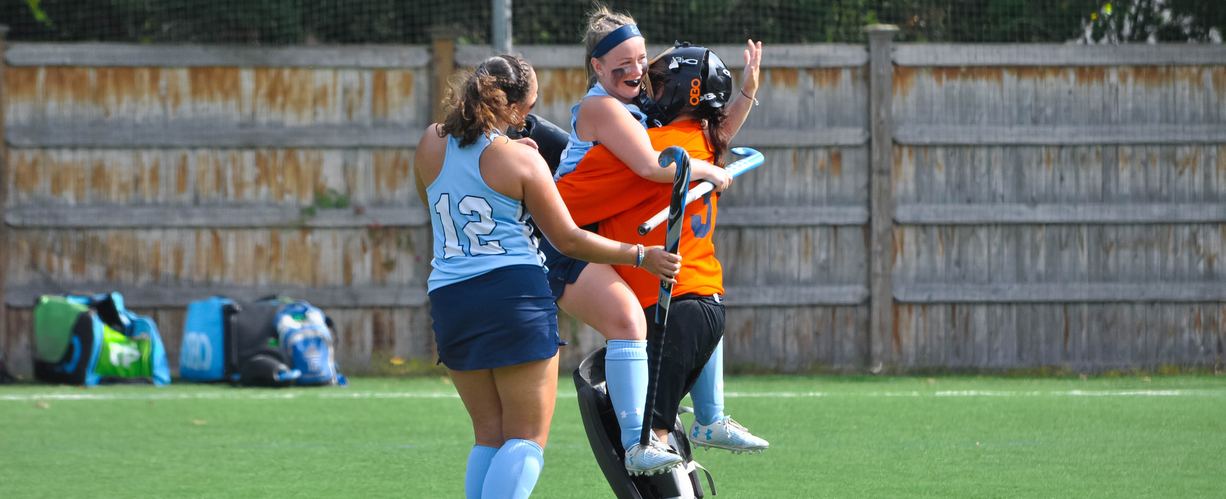 Field Hockey Hands Reigning GNAC Champion Saint Joseph's Maine First Conference Loss