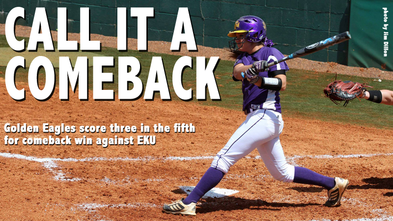 Tech plates three in the fifth to edge Eastern Kentucky in thrilling series finale