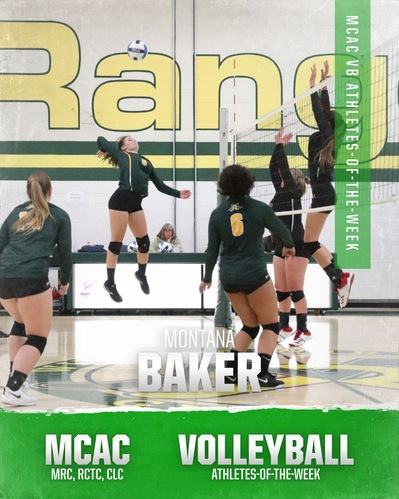 MCAC Volleyball: Athletes-of-the-Week