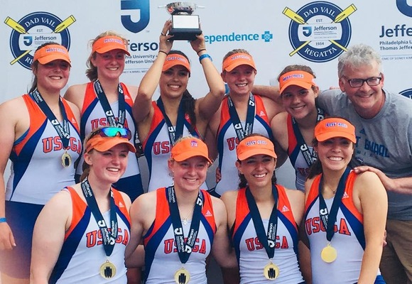 Top Moments from 2017-18: Women's Rowing