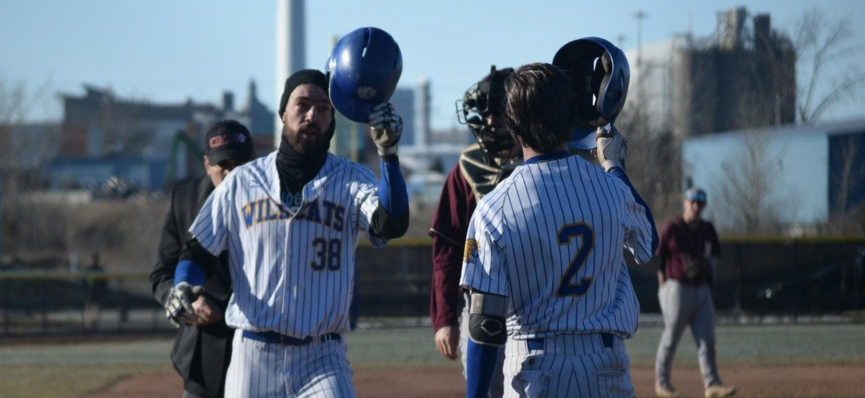 Baseball Outlasts Anna Maria 27-13 In GNAC Tournament Opener