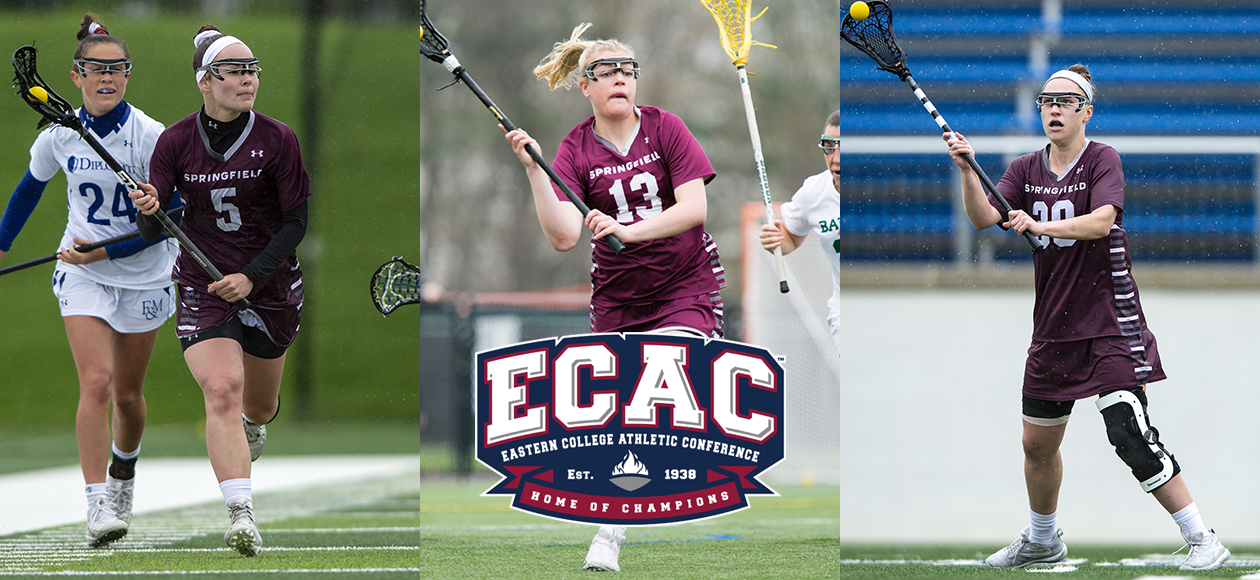 Kane, Stone and Sarnacki Collect All-ECAC Women's Lacrosse Honors