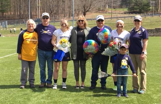 Trailblazers drop senior day tilt with Rams 17-4