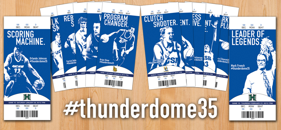 Athletics Celebrates The Thunderdome With #thunderdome35 Campaign