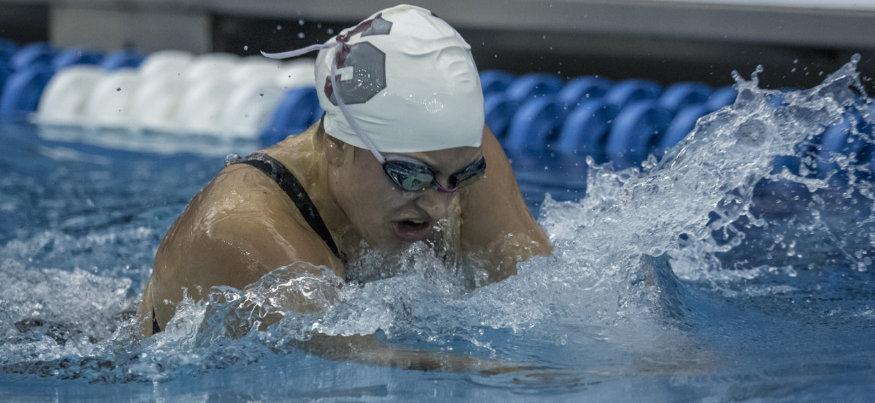 Medeiros Leads Women's Swimming and Diving In Day Two of Ithaca Invitational