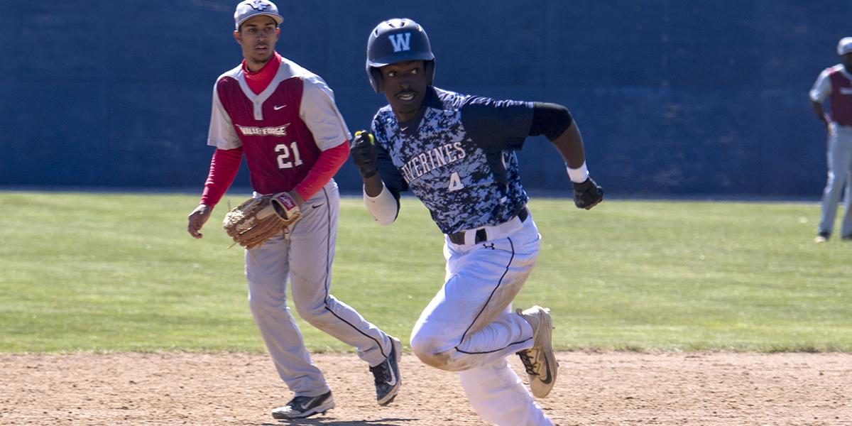 Baseball splits doubleheader with York
