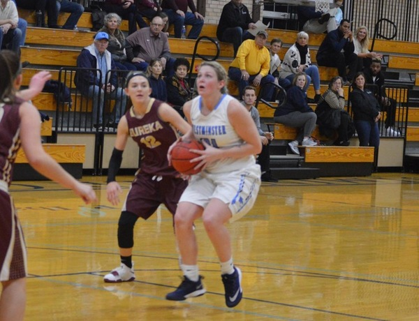 Eureka Outlasts Westminster Women's Basketball in Overtime