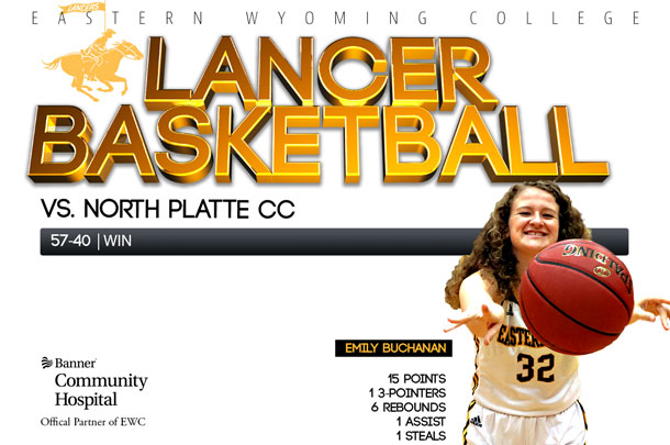 Eastern Wyoming College Lady Lancer Basketball @ North Platte Community College Basketball