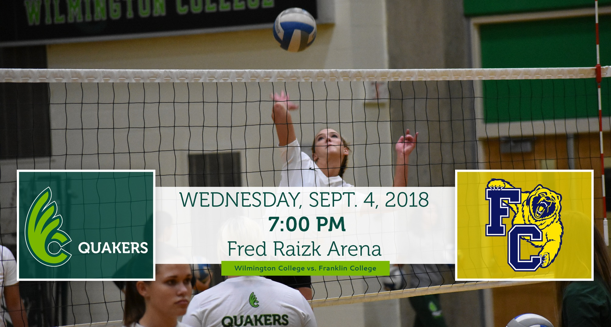 Volleyball Hosts Franklin on Wednesday
