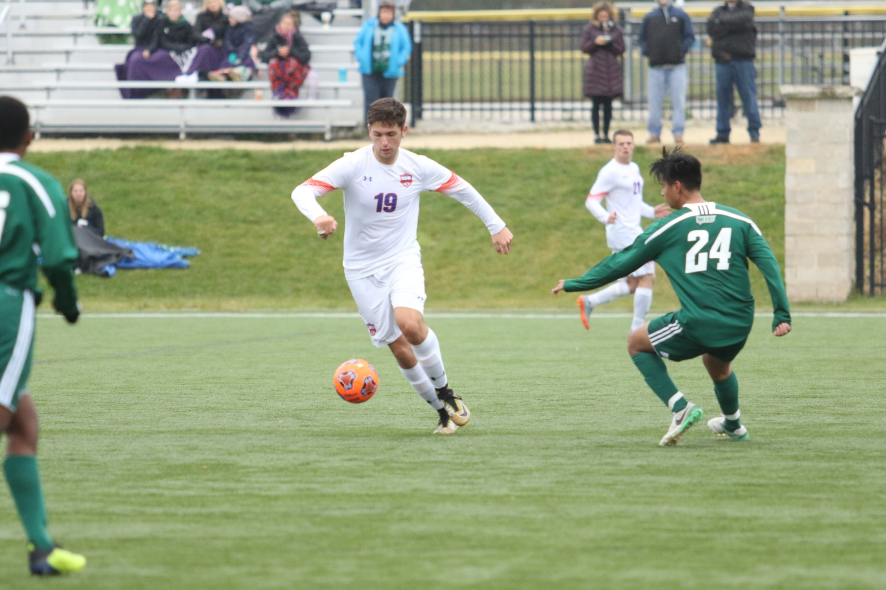 Men's Soccer shuts down WLC in NACC Tournament