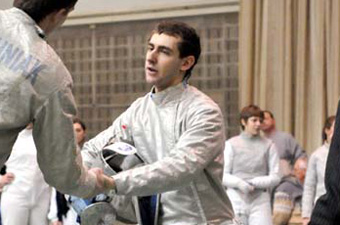 Men's fencing goes 4-1 at Northeast Conference opener