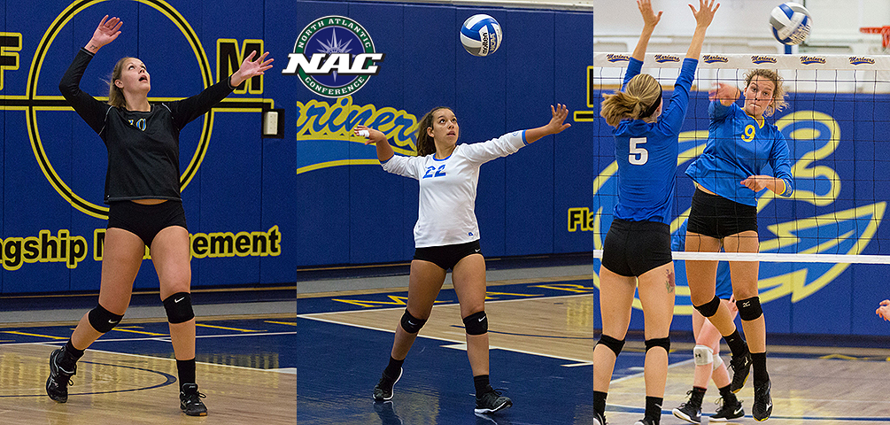 Cacacie, Perez and Melampy Earn NAC Weekly Honors