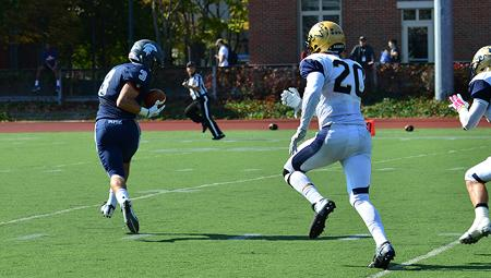 Spartans Utilize Air Attack in 48-21 Homecoming Win Over Thiel