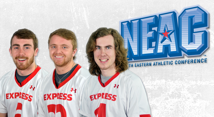 Men's Lacrosse Trio Earns NEAC All-Conference Honors