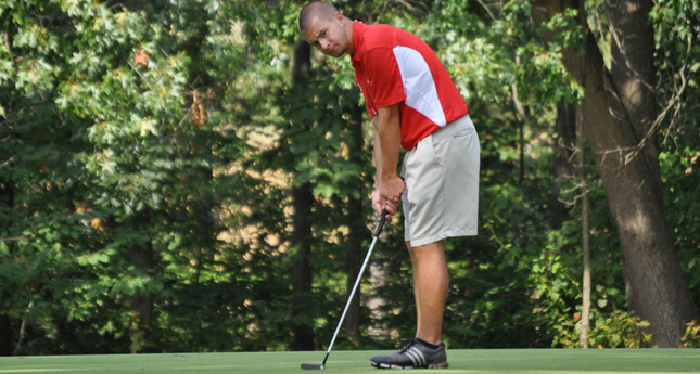 Hornets Tied for First-Place After One Round of LC Golf Invitational