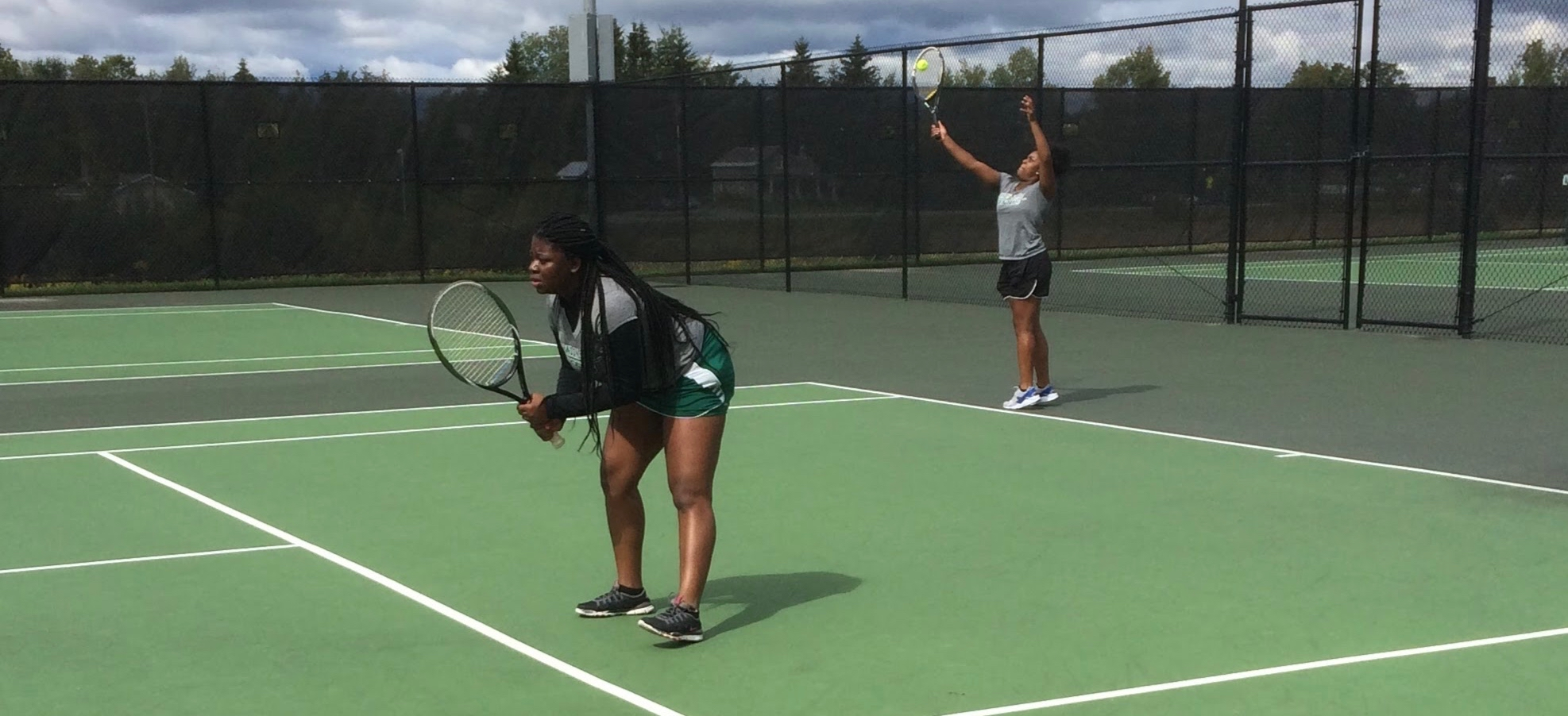 Hornet Women's Tennis falls to Green Mountain and Castleton