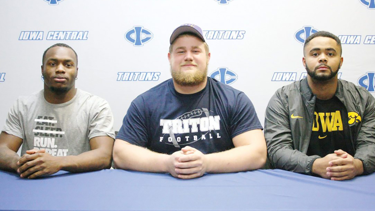 Triton trio named to NJCAA All-American team