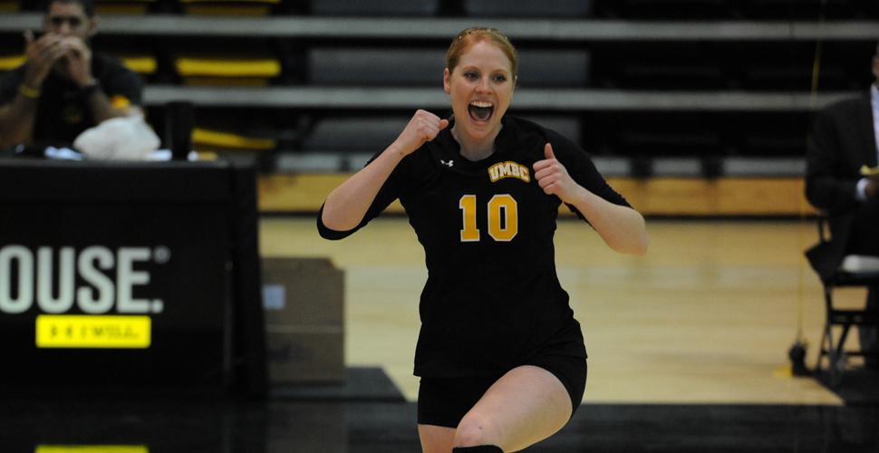 McIntyre Selected as 2013 America East Setter of the Year; Witsaman and Schmidt Also Honored on All-Conference Squads