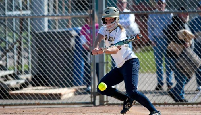 Softball Edges St. Norbert Twice on the Road