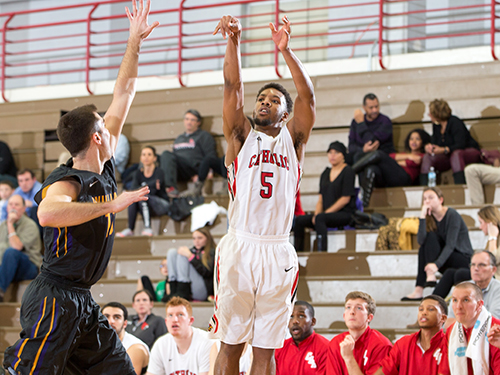 Men's Basketball Shoots Past No. 12 Susquehanna, 101-80