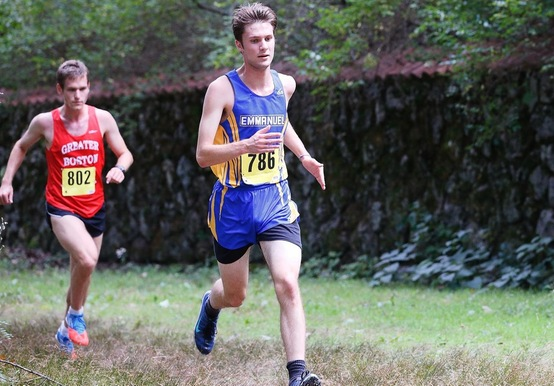 MEN'S CROSS COUNTRY PLACES THIRD IN GNAC CHAMPIONSHIP