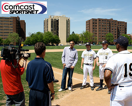 Gallaudet baseball to be featured on Comcast SportsNet on Monday