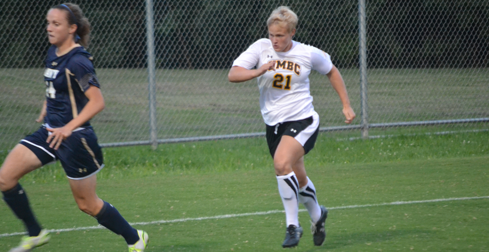 Moyer's First Collegiate Goal Helps Women's Soccer Down First-Place Hartford, 1-0