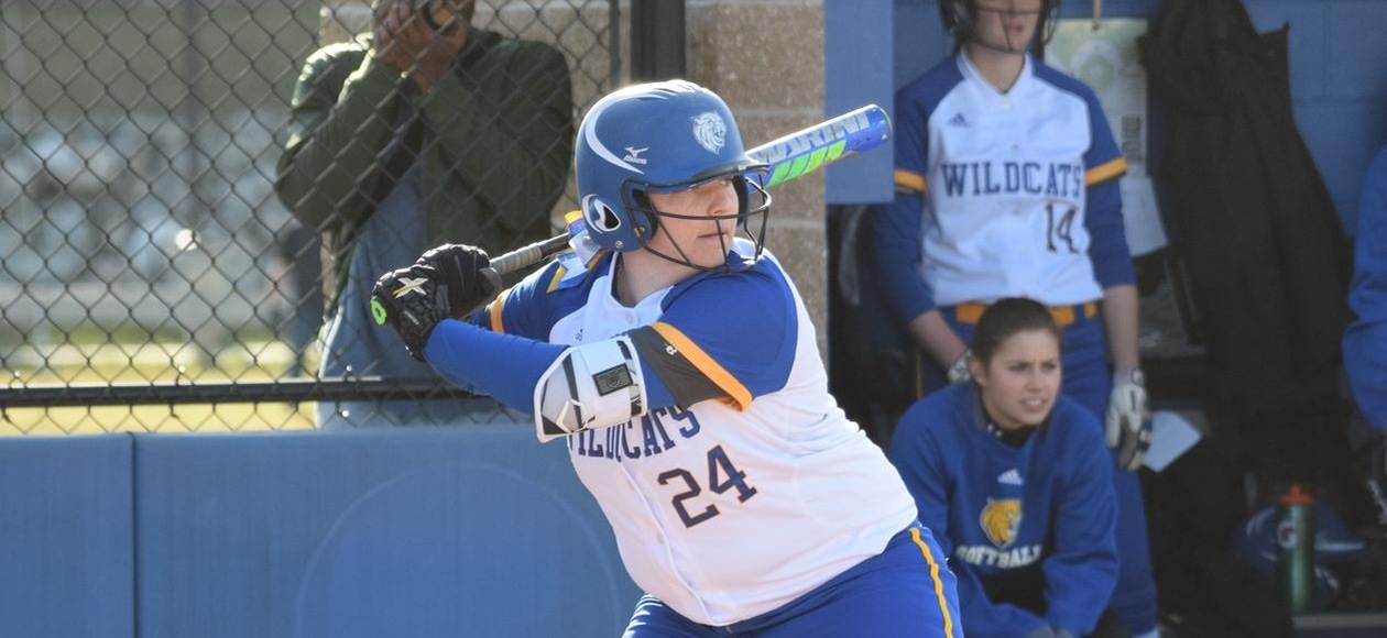 Softball Takes a Pair Off Mount Ida