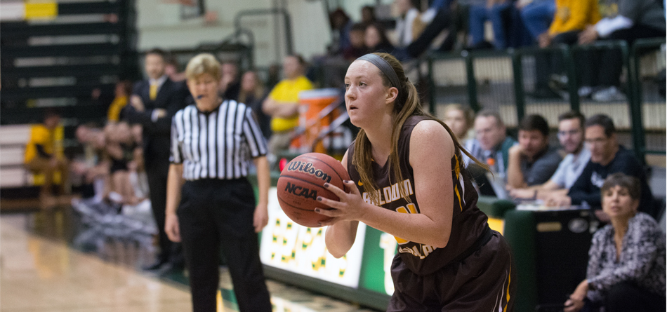 Sophomore forward Sydney Diedrich had a season-high 18 points in the win over Case Western Reserve
