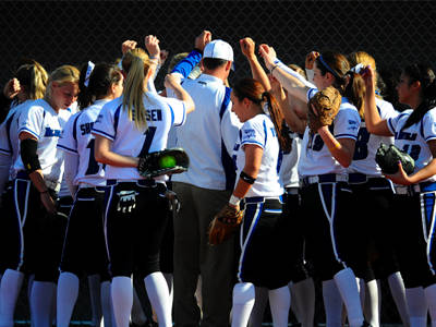 Saturday's Softball Doubleheader Pushed Back to 3 p.m.